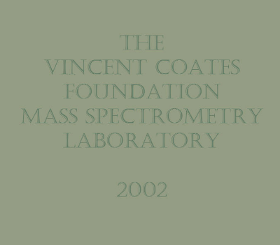 Vincent Coates Foundation Plaque